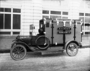 A.E. Meek Trunk & Bag Co. Delivery Truck